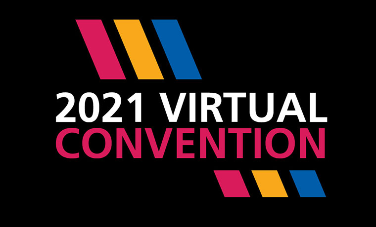 Spotlight ad: Virtual Convention 2021